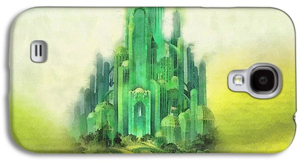 Wizard Galaxy S4 Case - Emerald City by Mo T