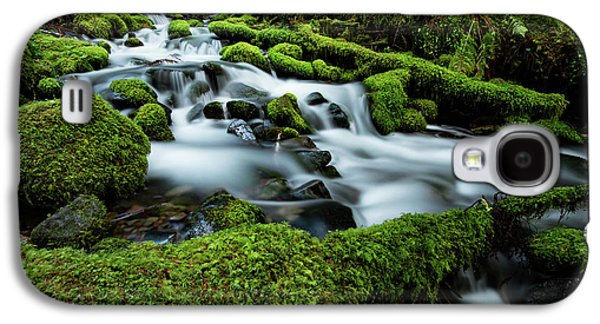 Emerald Flow Galaxy S4 Case by Edgars Erglis