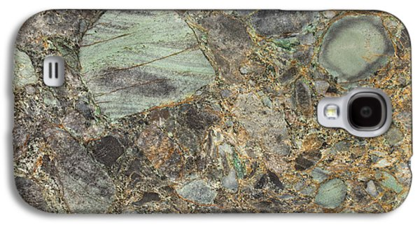 Emerald Green Granite Galaxy S4 Case by Anthony Totah