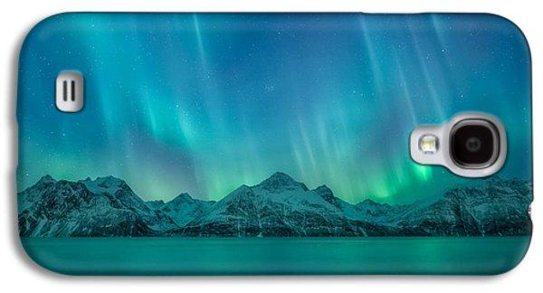 Emerald Sky Galaxy S4 Case