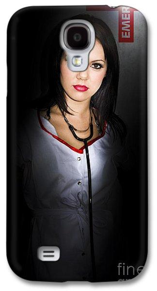 Emergency Department Nurse Galaxy S4 Case by Jorgo Photography - Wall Art Gallery