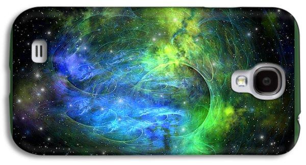Emission Nebula Galaxy S4 Case