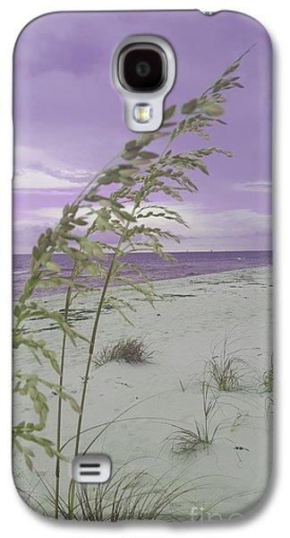 Emma Kate's Purple Beach Galaxy S4 Case
