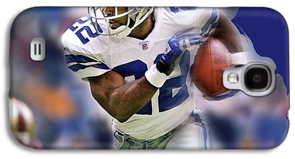 Emmit Smith, Number 22, Running Back, Dallas Cowboys. Galaxy S4 Case