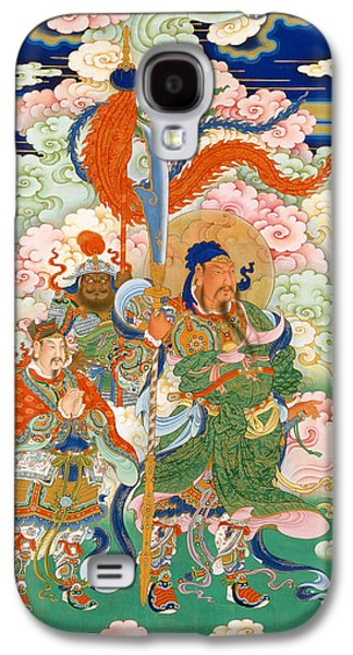 Emperor Guan, Hanging Scroll Galaxy S4 Case