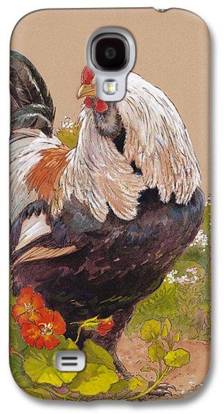 Chicken Galaxy S4 Case - Emperor Norton by Tracie Thompson