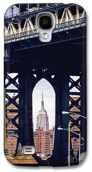 Bridges Galaxy S4 Case - Empire Framed by Joan McCool