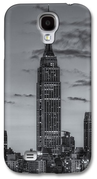 Empire State Building Morning Twilight Iv Galaxy S4 Case by Clarence Holmes