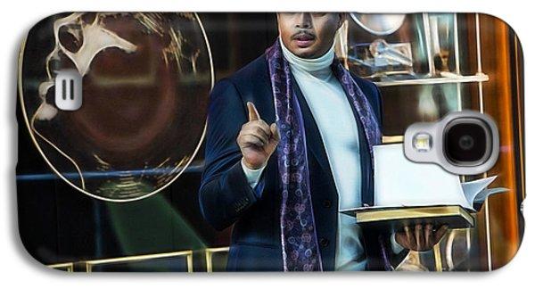 Empire Terrance Howard As Lucious Lyon Galaxy S4 Case by Marvin Blaine