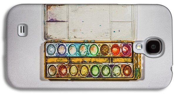 Empty Watercolor Paint Trays Galaxy S4 Case