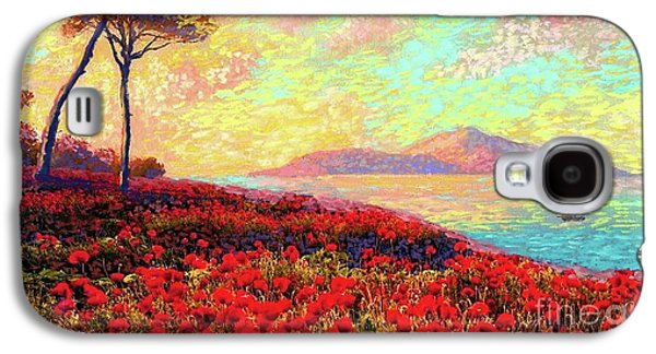 Enchanted By Poppies Galaxy S4 Case