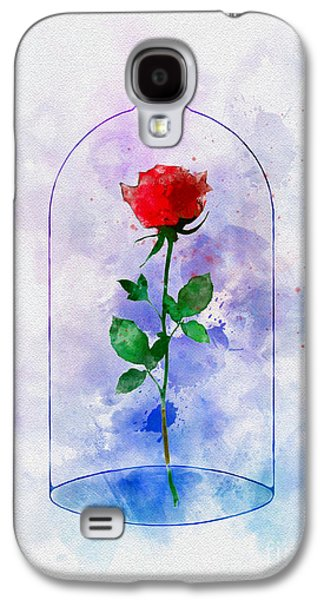 Enchanted Rose Galaxy S4 Case by Rebecca Jenkins