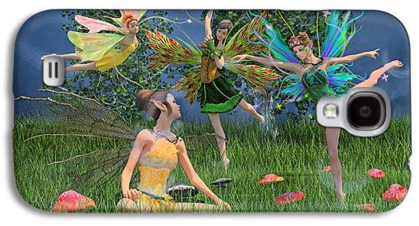 Enchanting Souls Galaxy S4 Case by Betsy Knapp