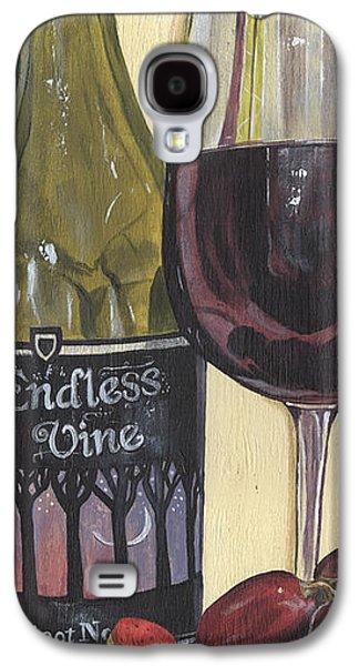 Endless Vine Panel Galaxy S4 Case by Debbie DeWitt