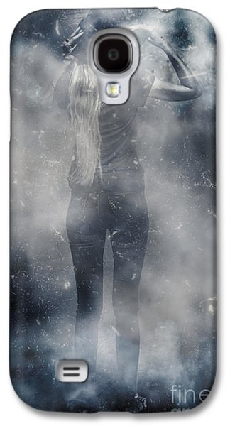 Energy Combustion In Thought Creation Galaxy S4 Case