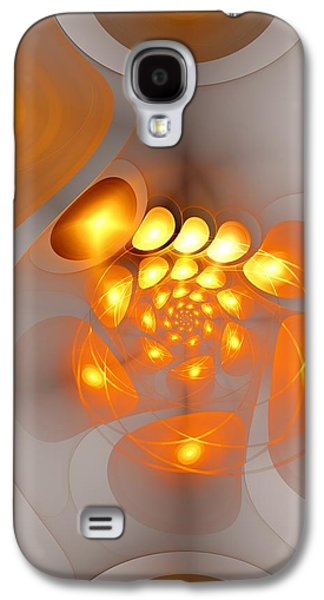 Galaxy S4 Case featuring the digital art Energy Source by Anastasiya Malakhova