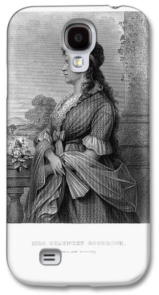 Engraved Portrait Of Mrs. Chauncey Goodrich, Mary Wolcott, Circa 1790 Galaxy S4 Case