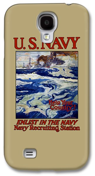 Enlist In The Navy - Help Your Country Galaxy S4 Case