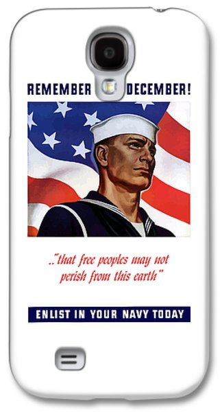 Enlist In Your Navy Today - Ww2 Galaxy S4 Case
