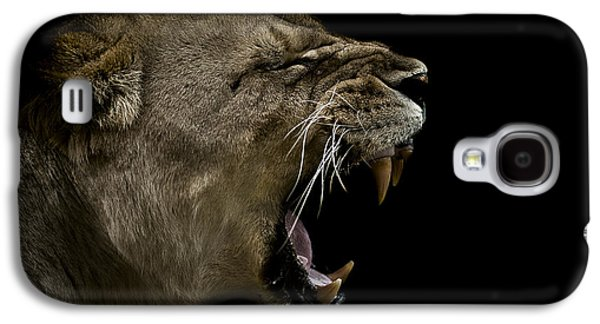Enraged Galaxy S4 Case by Paul Neville