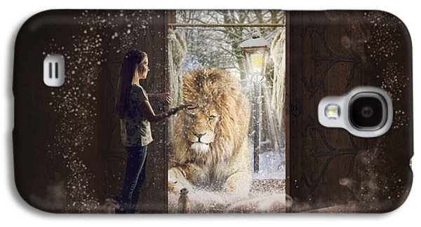 Entering Narnia Galaxy S4 Case by Imelda Bell
