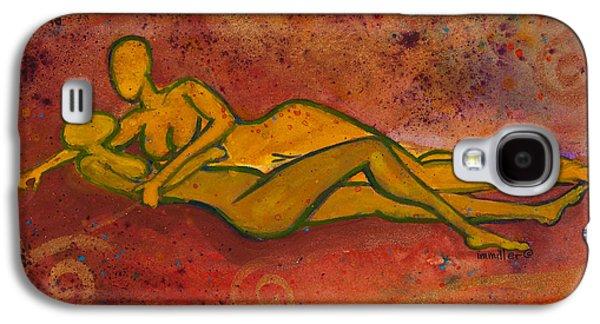 Enthralled Divine Love Series No. 1004 Galaxy S4 Case by Ilisa Millermoon