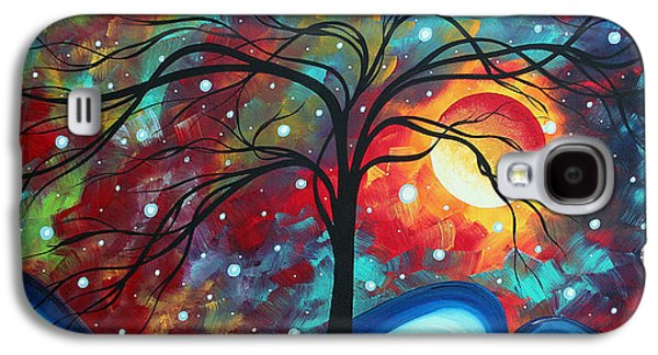 Design Paintings Galaxy S4 Cases - Envision the Beauty by MADART Galaxy S4 Case by Megan Duncanson