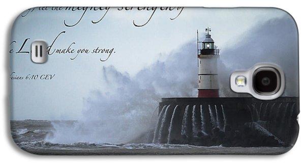 Ephesians 6 10 Galaxy S4 Case