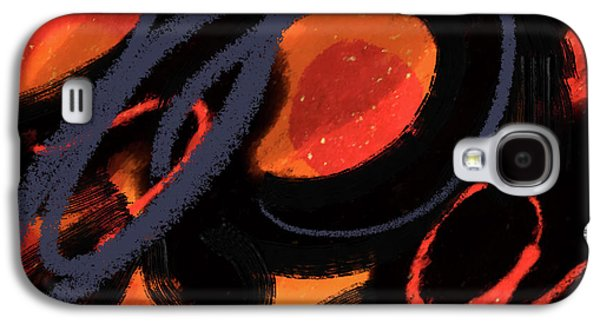 Abstract Movement Galaxy S4 Case - Epic Journey by Janis Kirstein