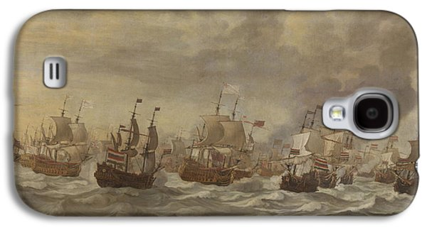 Episode From The Four Days' Naval Battle Of June 1666 Galaxy S4 Case