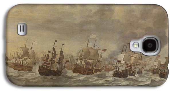 Episode From The Four Days' Naval Battle Of June 1666 Galaxy S4 Case by Willem Van De Velde The Younger