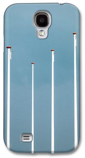 Equalizer Galaxy S4 Case by Wim Lanclus