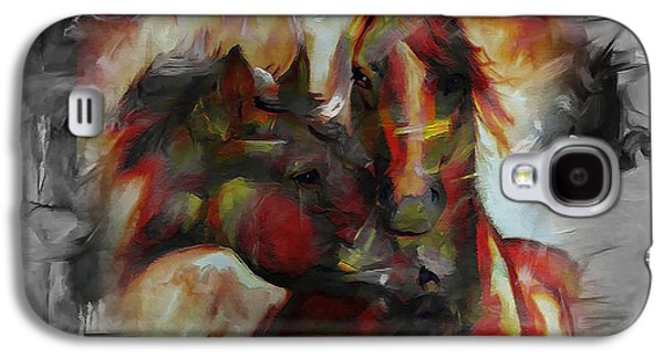 Equestrian Galaxy S4 Case