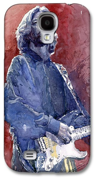 Eric Clapton 04 Galaxy S4 Case by Yuriy  Shevchuk