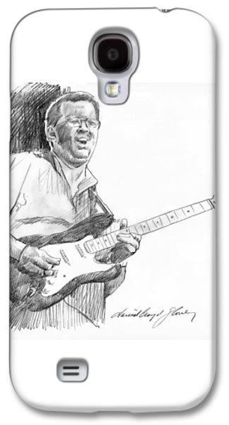 Eric Clapton Jam Galaxy S4 Case by David Lloyd Glover