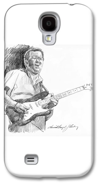 Eric Clapton Jam Galaxy S4 Case by David Lloyd Glover