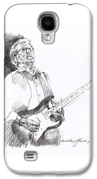 Eric Clapton Joy Galaxy S4 Case by David Lloyd Glover