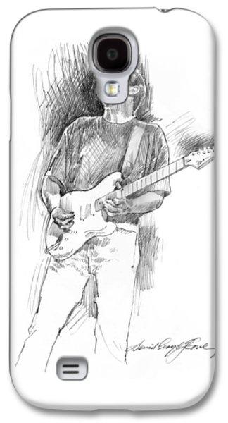 Eric Clapton Strat Galaxy S4 Case by David Lloyd Glover