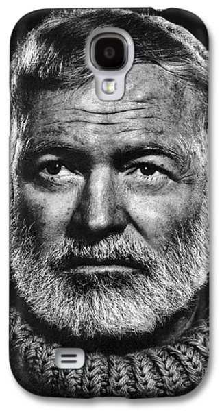 Ernest Hemingway Galaxy S4 Case by Daniel Hagerman