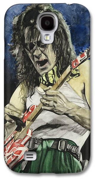 Van Halen Galaxy S4 Case - Eruption  by Lance Gebhardt