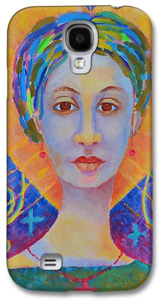 Erzulie Freda Painting. Ezili Freda Portrait Made In Poland By Polish Artist Magdalena Walulik Galaxy S4 Case