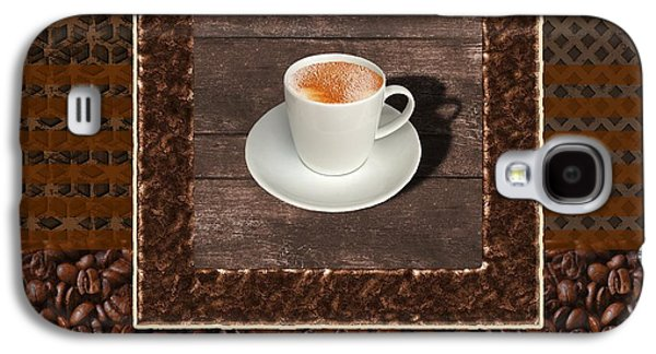 Espresso - Coffee Art Galaxy S4 Case by Anastasiya Malakhova