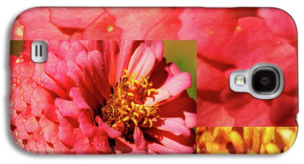 Essence Of Zinnia Flower Galaxy S4 Case by Carol F Austin