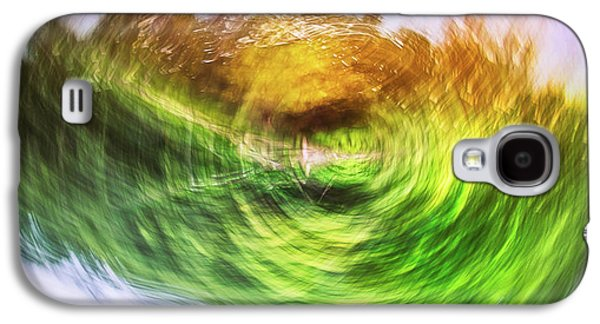 Eternally Spinning Galaxy S4 Case