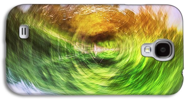 Eternally Spinning Galaxy S4 Case by Scott Norris