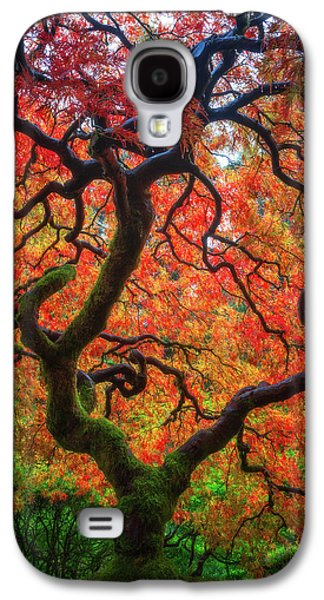 Ethereal Tree Alive Galaxy S4 Case