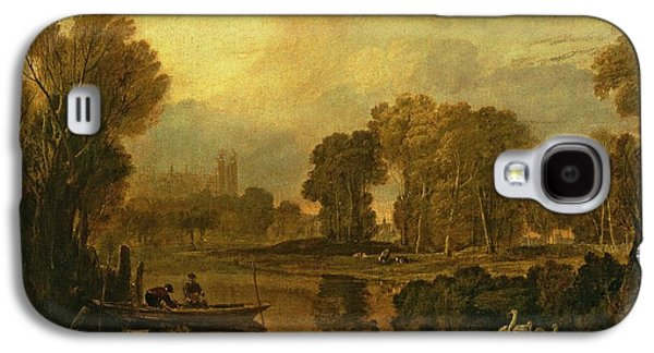 Eton College From The River Galaxy S4 Case by Joseph Mallord William Turner