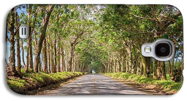 Eucalyptus Tree Tunnel - Kauai Hawaii Galaxy S4 Case by Brian Harig
