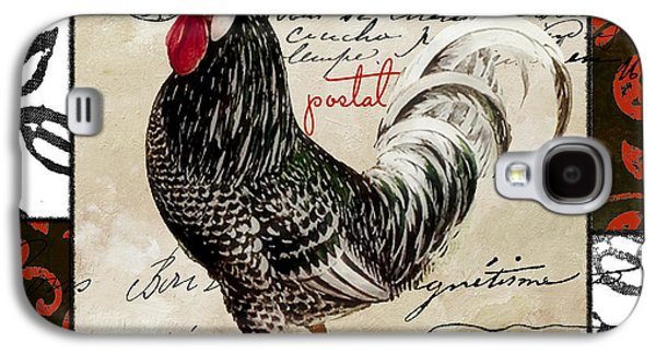 Europa Rooster IIi Galaxy S4 Case by Mindy Sommers