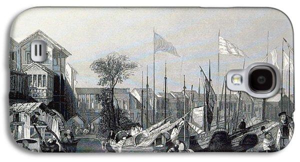 European Warehouses, China, 19th Century Galaxy S4 Case